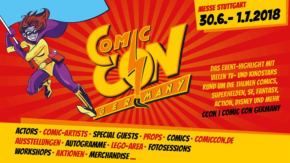 CCon |Comic Con Germany 2018