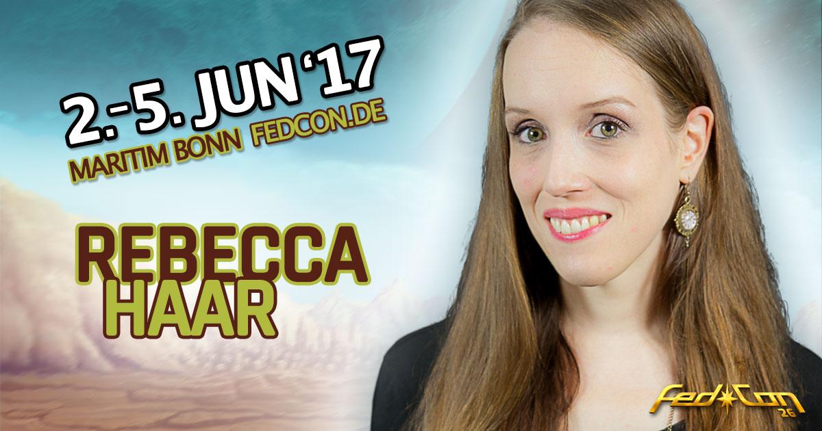 FedCon 26 |Vortragende | Rebecca Haar