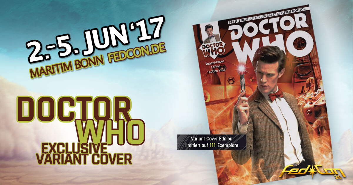FedCon 26 | Vortrag | Exclusive Doctor Who Variant Cover