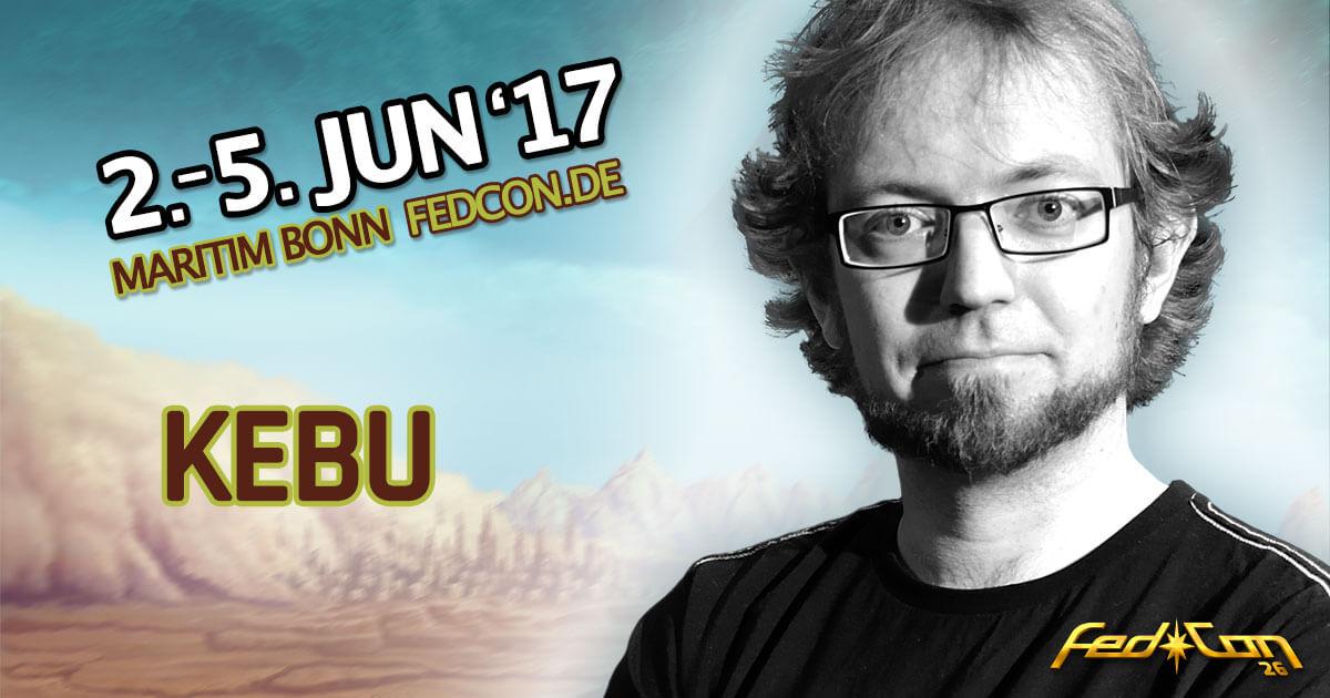 FedCon 26 |Special Guest | Kebu