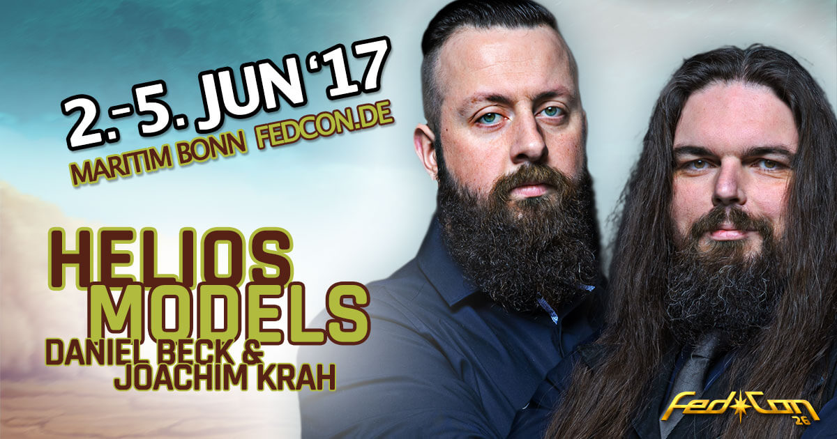 FedCon 26 |Special Guest | Helios Models and Lightning