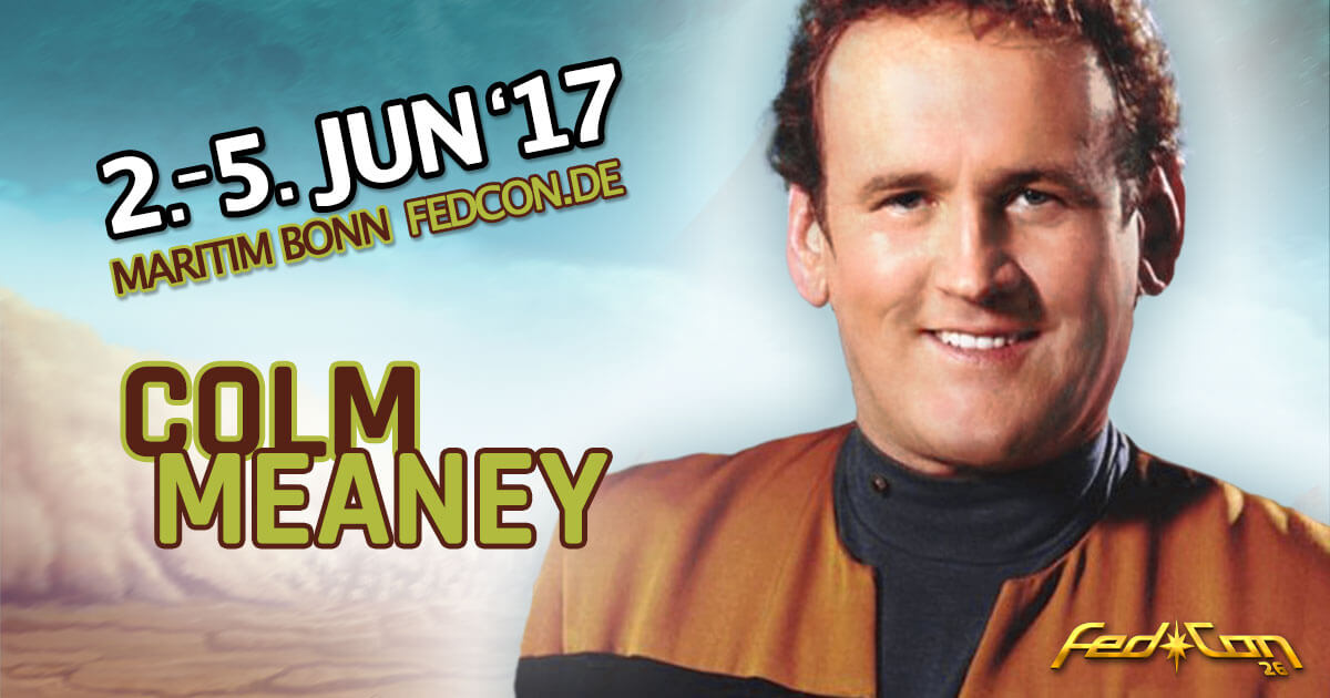 FedCon 26 | Stargast | Colm Meaney