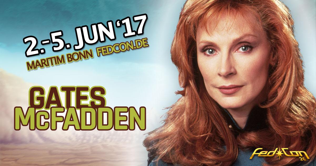 FedCon 26 |Stargast | Gates McFadden
