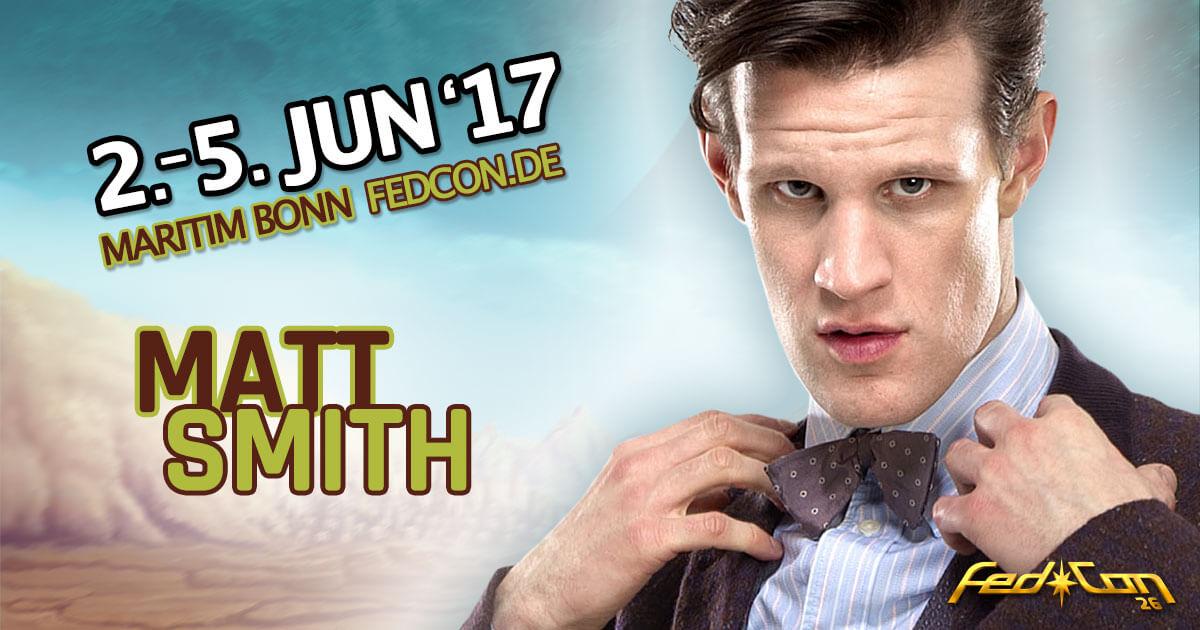 FedCon 26 |Stargast | Matt Smith