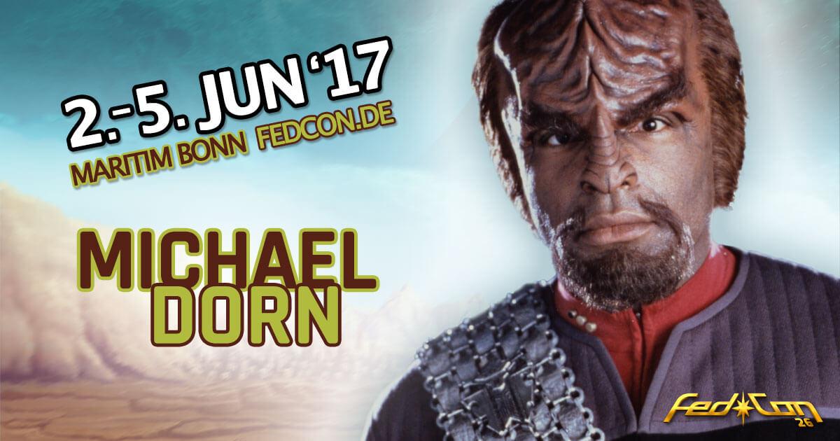 FedCon 26 |Stargast | Michael Dorn
