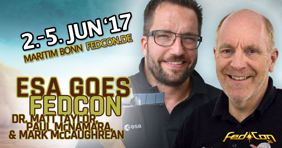 FedCon 26 |Special Guests | ESA goes FedCon