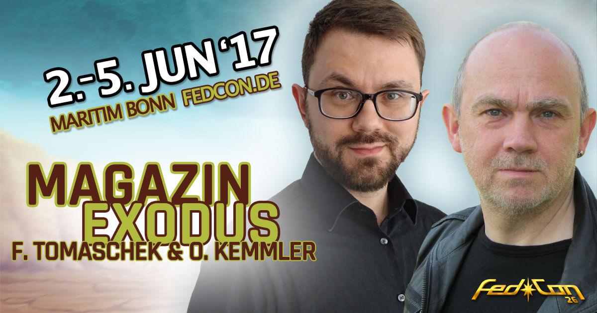 FedCon 26 |Vortrag | Magazin Exodus