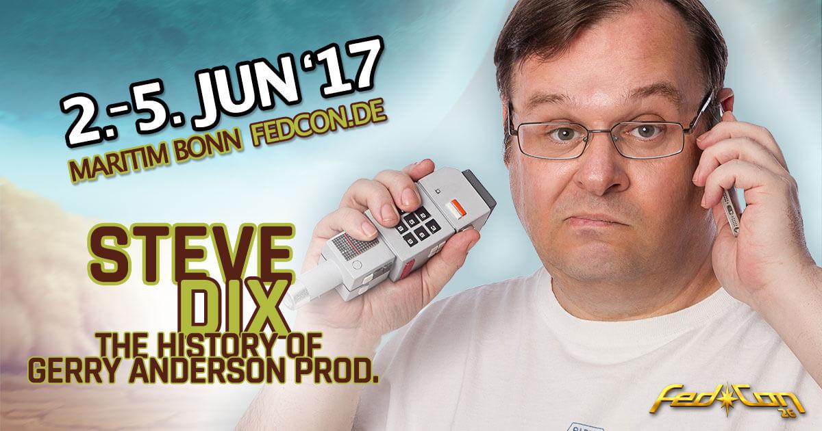 FedCon 26 |Vortragender | Steve Dix