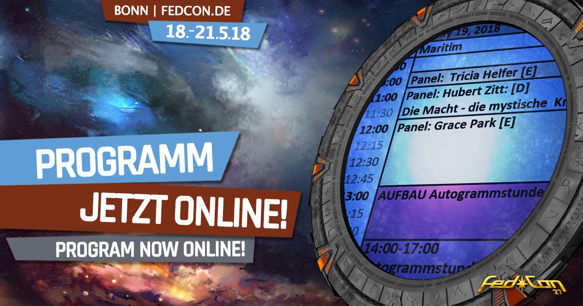FedCon 27 | News | Programm online