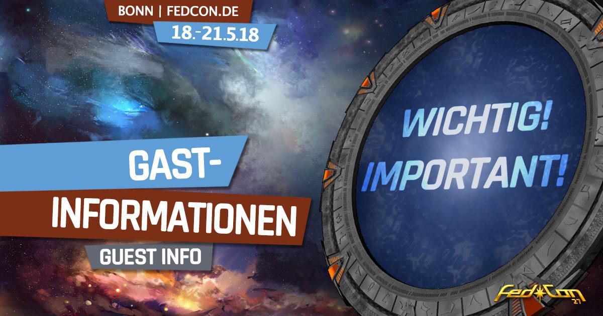FedCon 27 | News | Wichtige Gast-Informationen