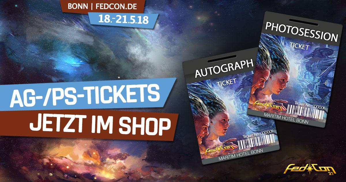 FedCon 27 | News | Autogramm- und Fotosession-Tickets jetzt im Shop