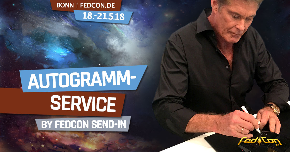 FedCon 27 | News | Autogramm Service by FedCon Send-in