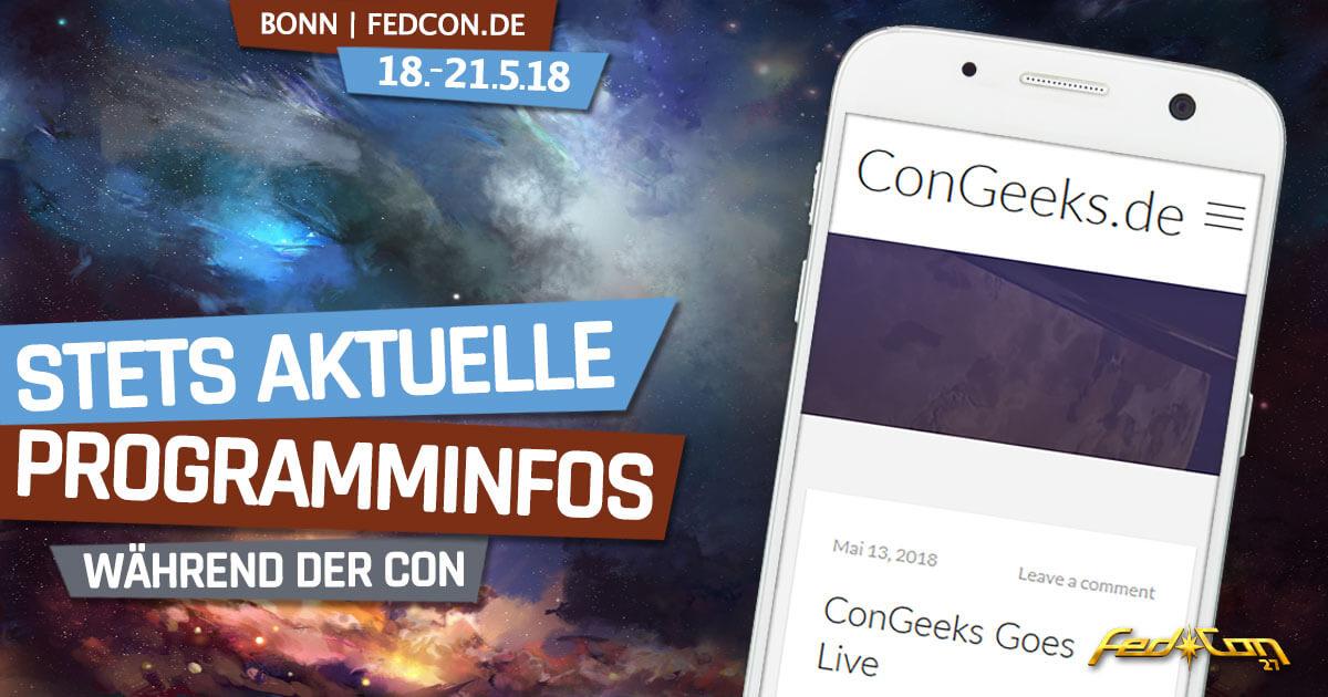 FedCon 27 | News | Aktuelle Programminfos