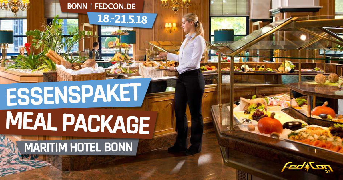 FedCon 27 | News | Essenspaket