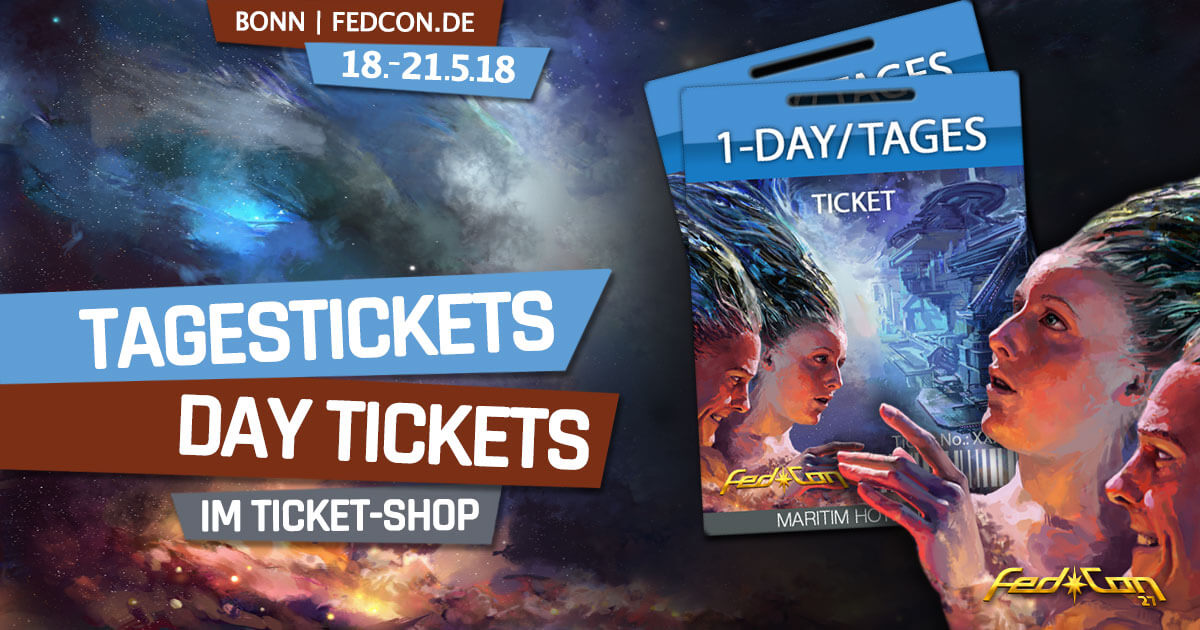FedCon 27 | News | Tagestickets