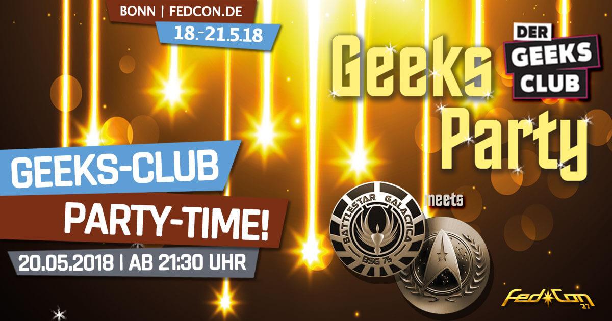 FedCon 27 | Specials | Geeks-Club-Party