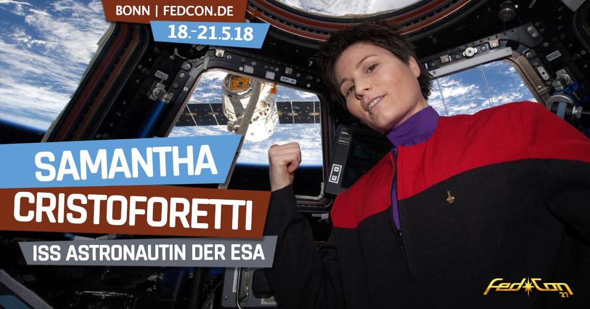 FedCon 27 | Specials | Samantha Cristoforetti - ISS Austronautin der ESA