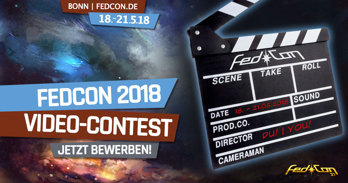 FedCon 27 | Specials | FedCon 2018 - Video-Contest