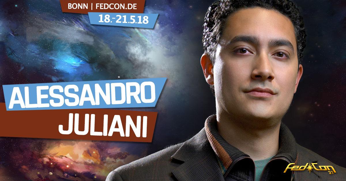 FedCon 27 |Stargast | Alessandro Juliani