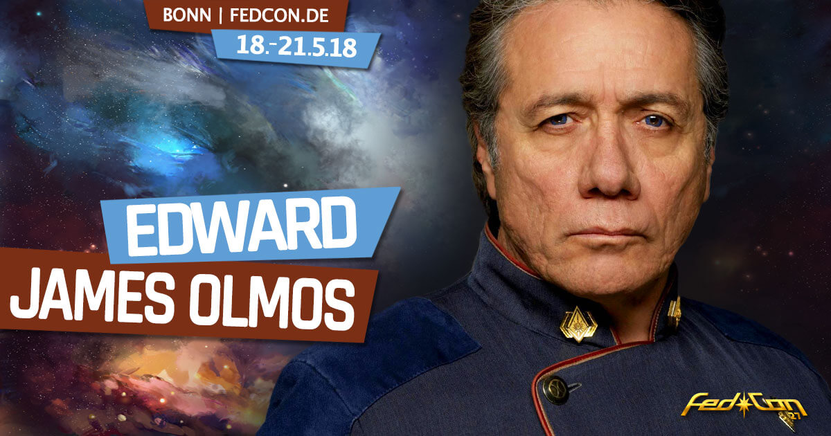FedCon 27 | Stargast | Edward James Olmos