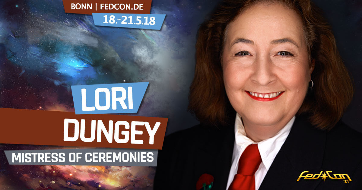 FedCon 27 | Stargast | Lori Dungey (Mistress of Ceremonies)