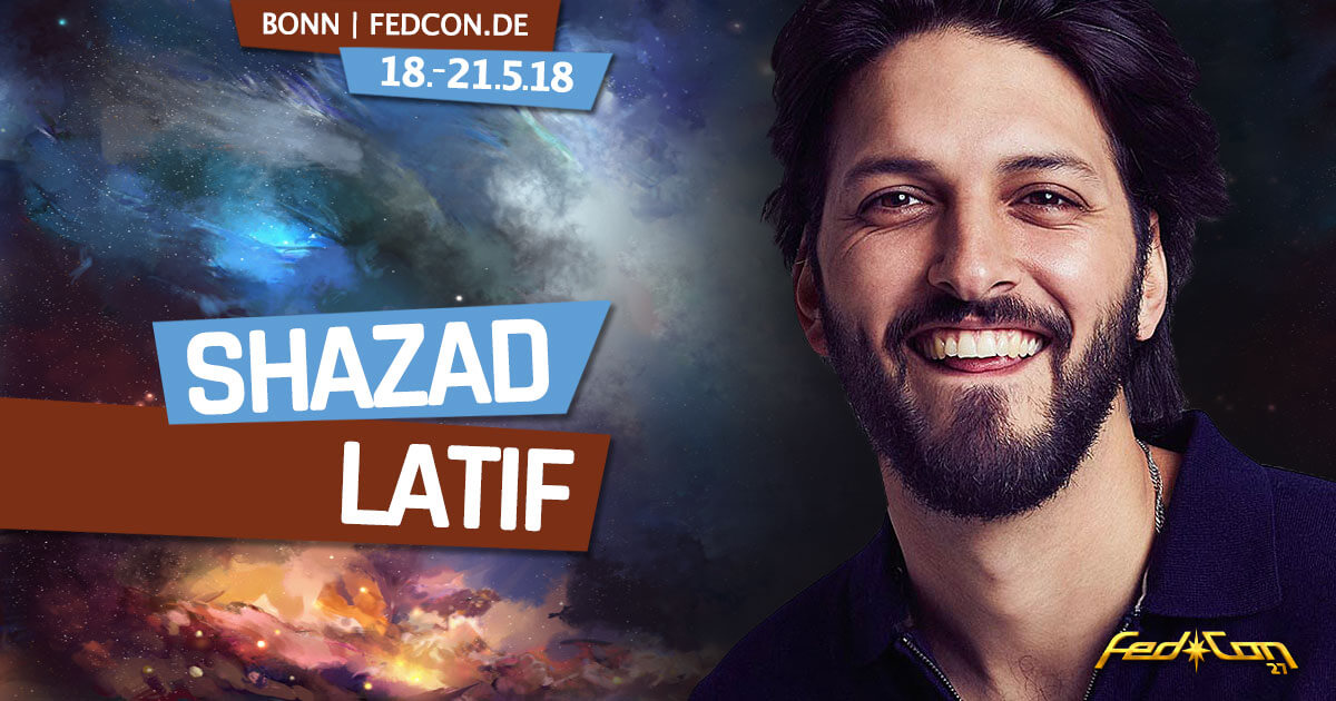 FedCon 27 | Stargast | Shazad Latif