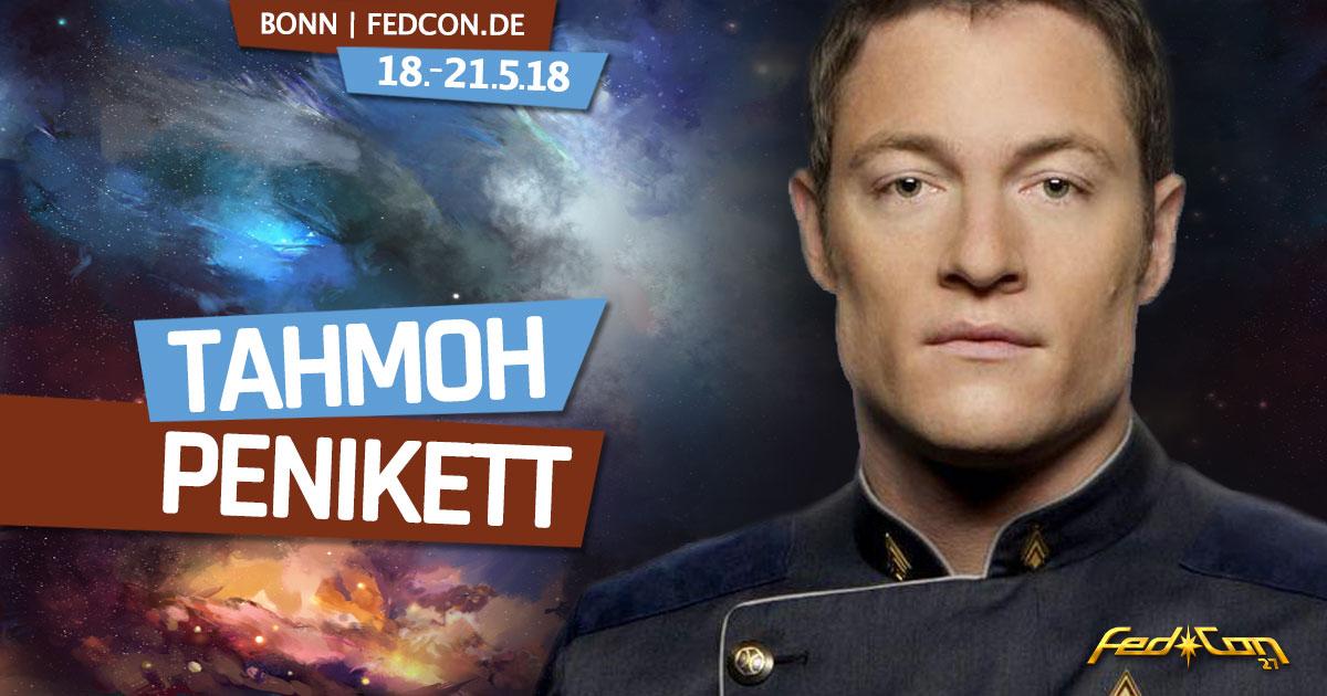 FedCon 27 |Stargast | Tahmoh Penikett