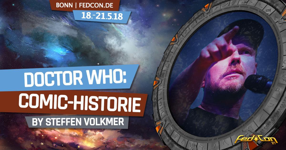 FedCon 27 | Vortrag | FedCon 2018 | Doctor Who: Die Comic-Historie