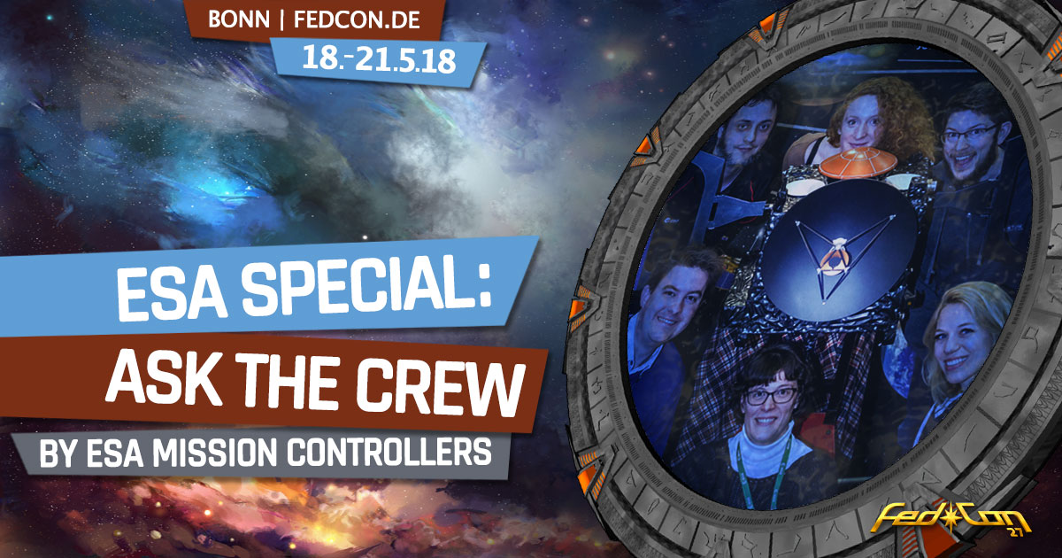FedCon 27 | Vortrag | ESA Special: Ask the Crew