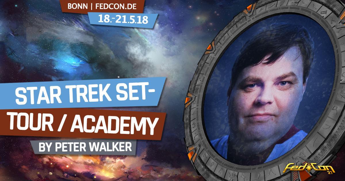 FedCon 27 | Vortrag | Star Trek Set-Tour / Academy
