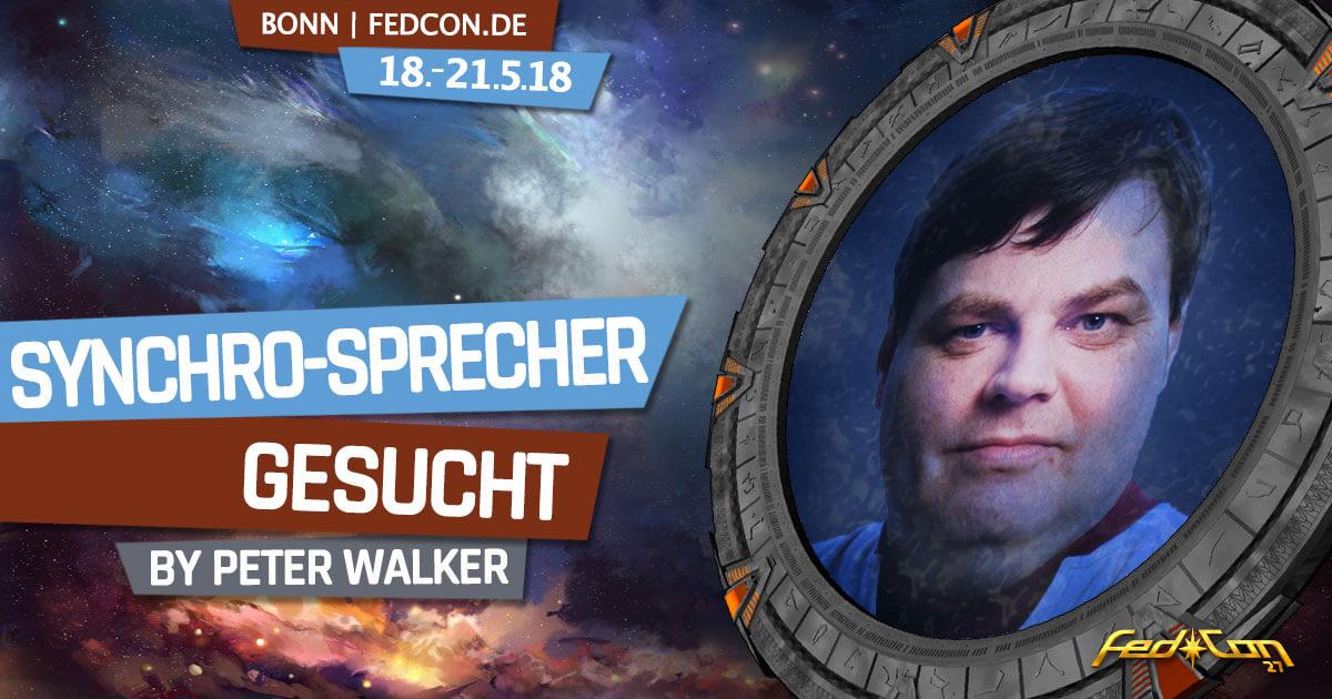FedCon 27 | Vortrag | Synchro-Sprecher gesucht