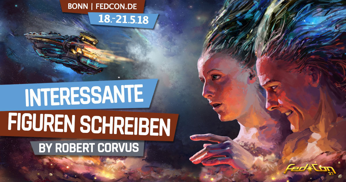 FedCon 27 | Workshop | Interessante Figuren schreiben