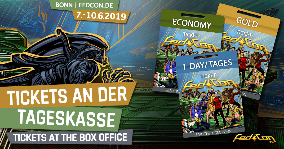 FedCon 28 | News | Tickets an der Tageskasse