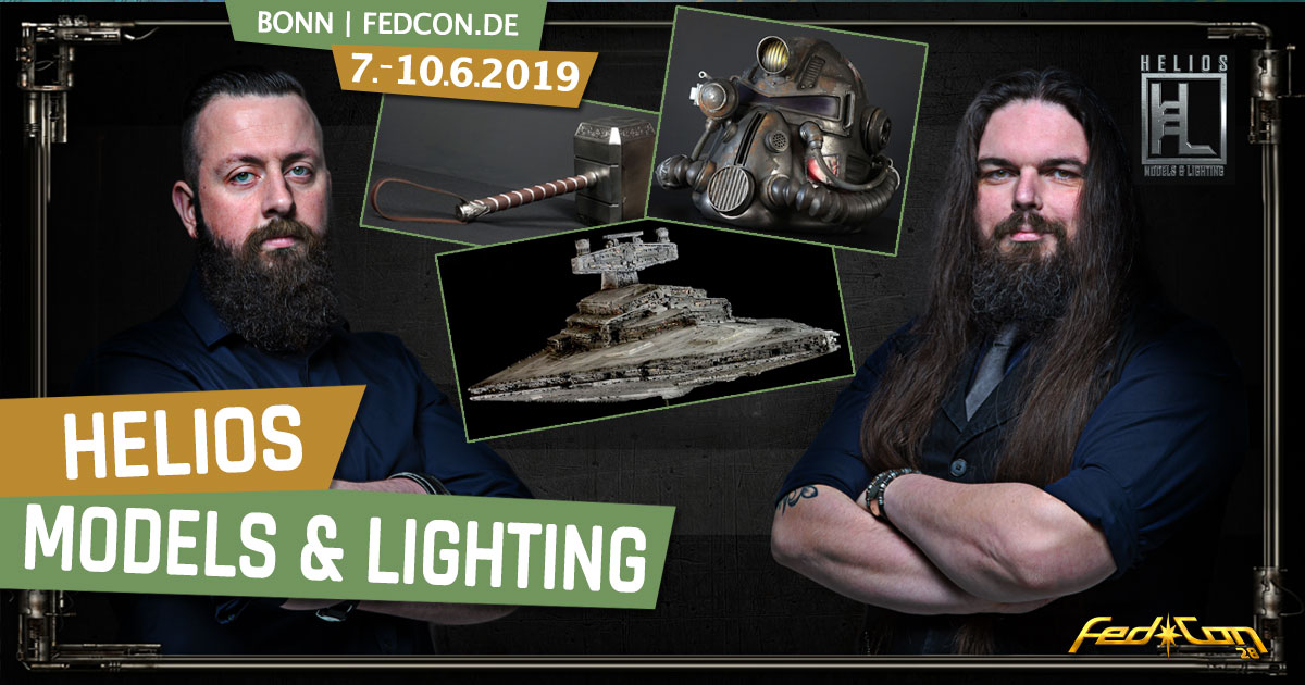 FedCon 28 | Specials | HELIOS Models & Lighting