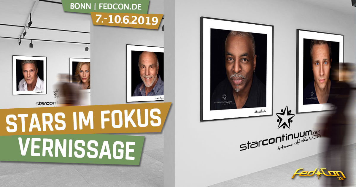 FedCon 28 | Specials | Stars im Fokus - Vernissage
