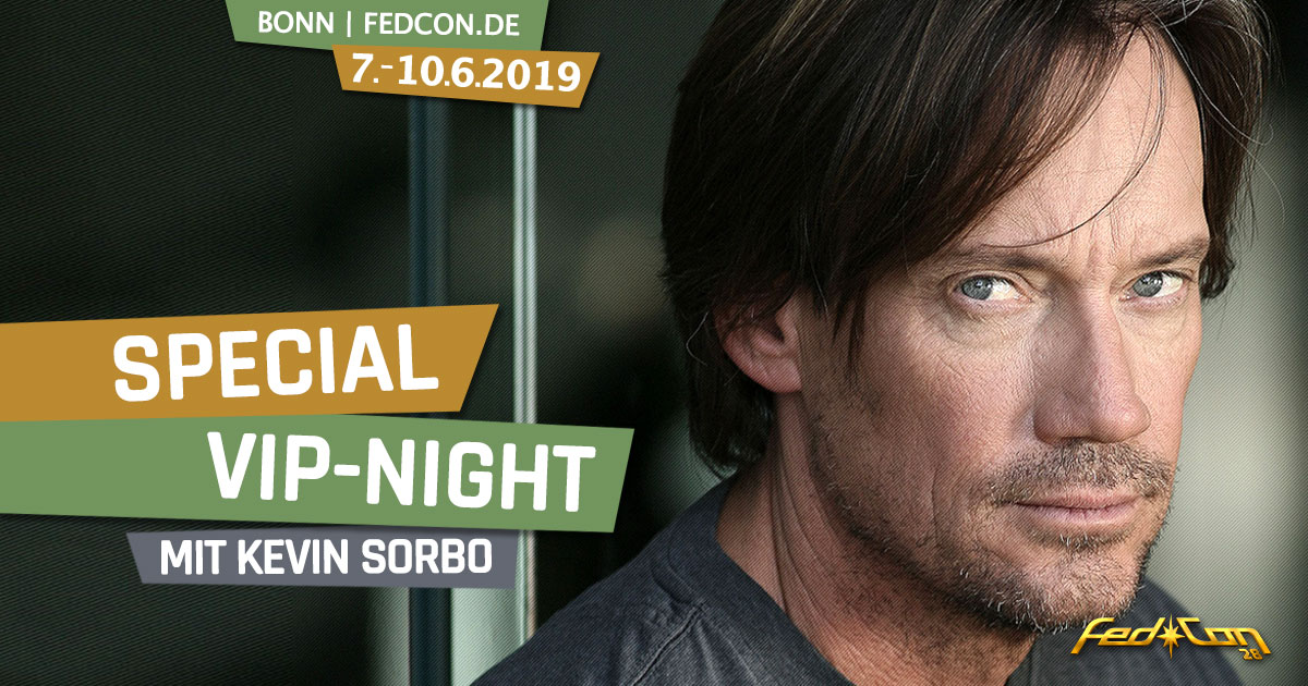 FedCon 28 | Specials | Special VIP-Night mit Kevin Sorbo