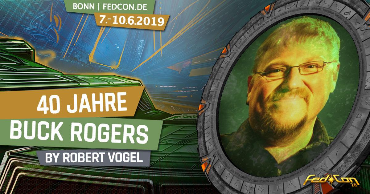 FedCon 28 | Vortrag | 40 Jahre Buck Rogers