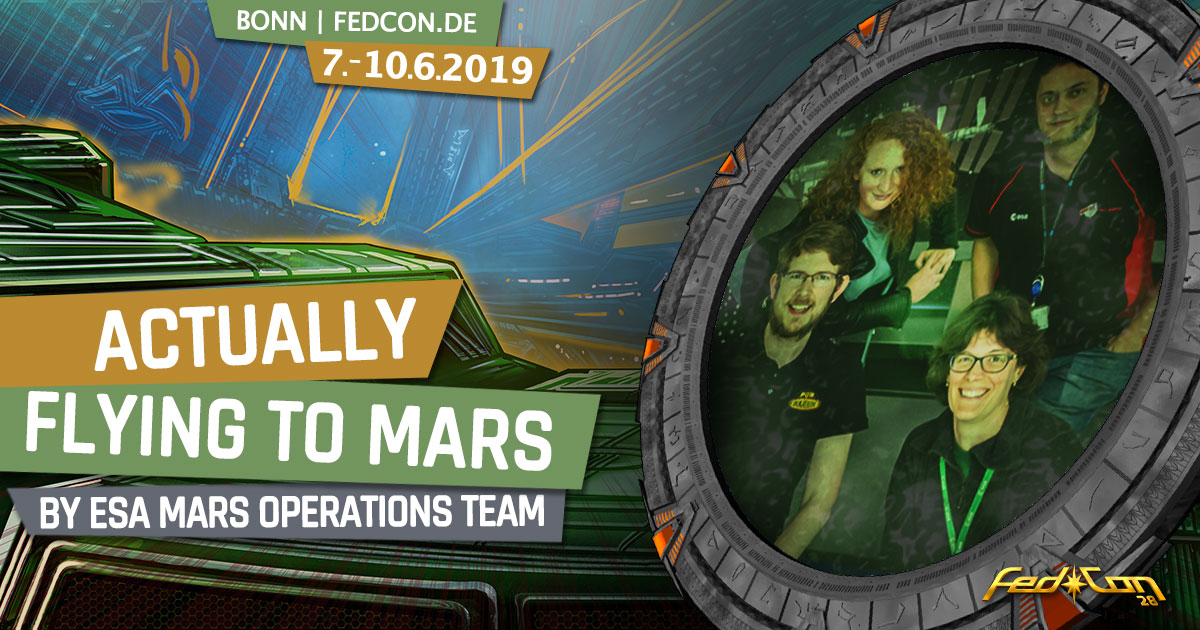 FedCon 28 | Vortrag | ESA - ACTUALLY flying to Mars