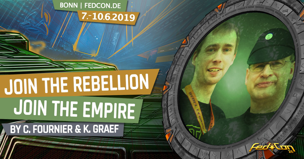 FedCon 28 | Vortrag | Join the Rebellion/the Empire
