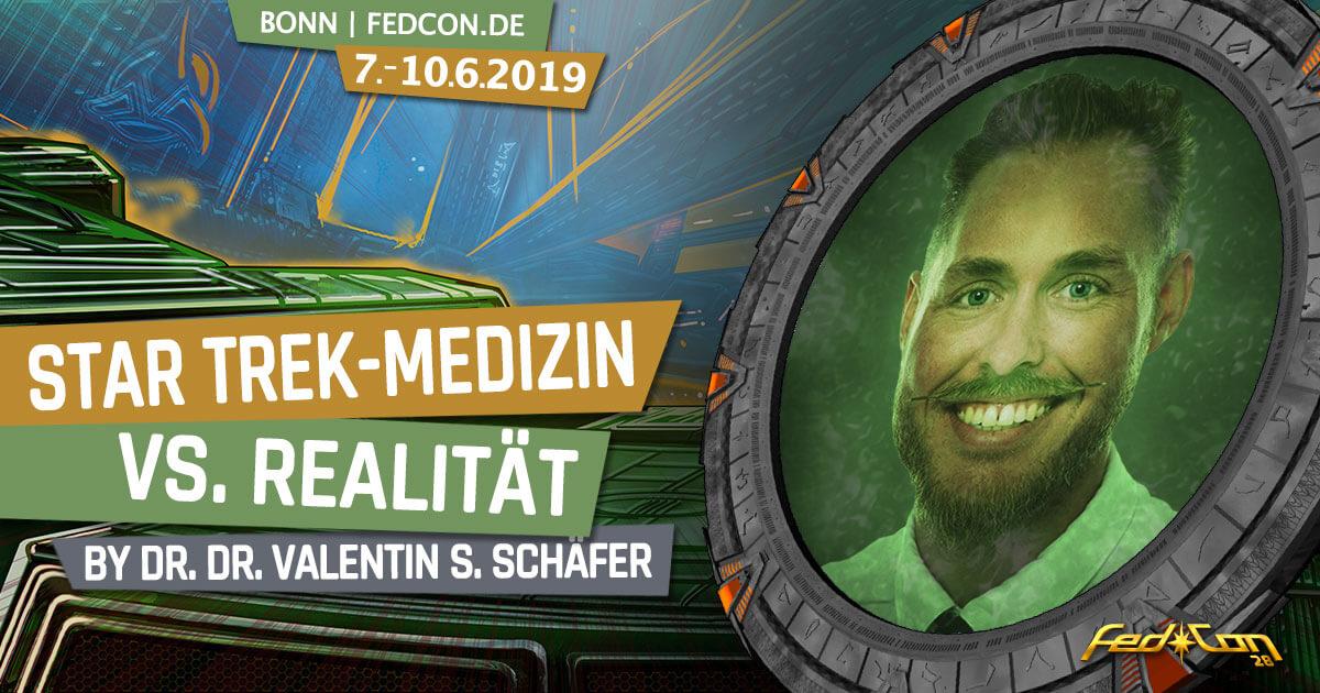FedCon 28 | Vortrag | Star Trek-Medizin vs. Realität