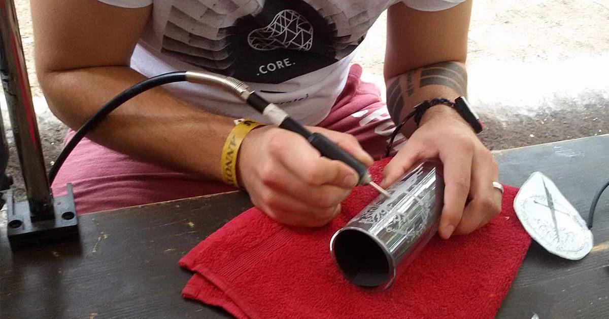 FedCon 28 | Workshop | Gläser gravieren
