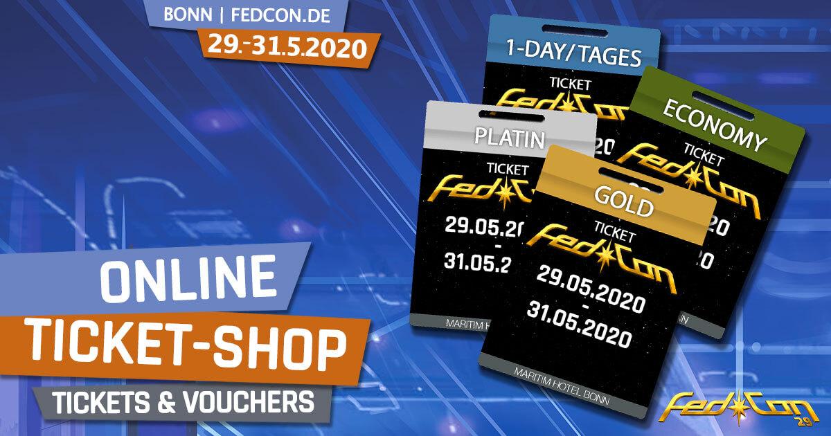 FedCon 29 | News | Online-Ticket-Shop
