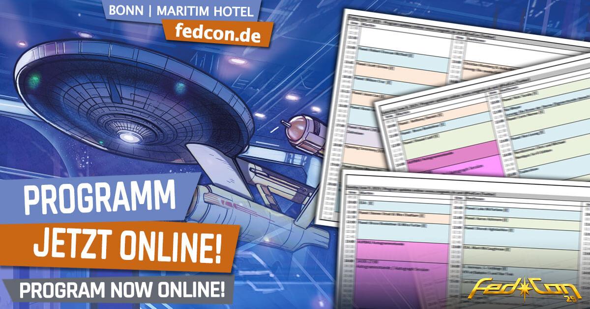 FedCon 29 | News | Programm jetzt online!