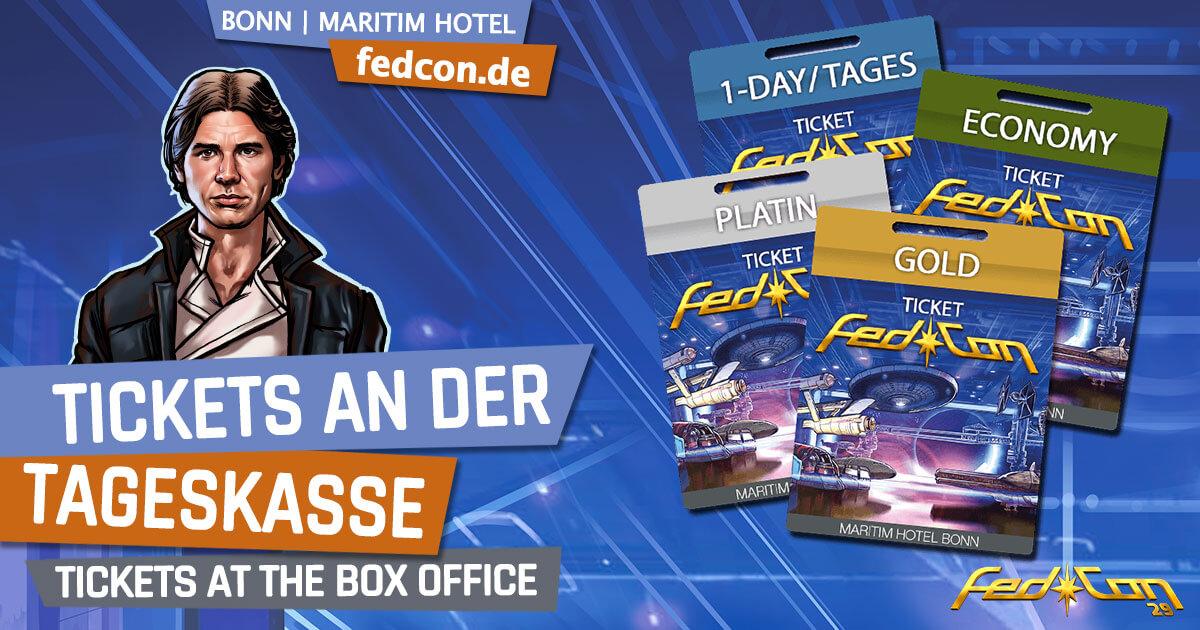 FedCon 29 | News | Tickets an der Tageskasse