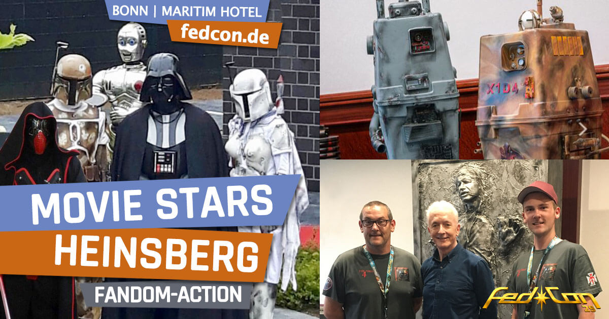 FedCon 29 | Specials | Movie Stars Heinsberg