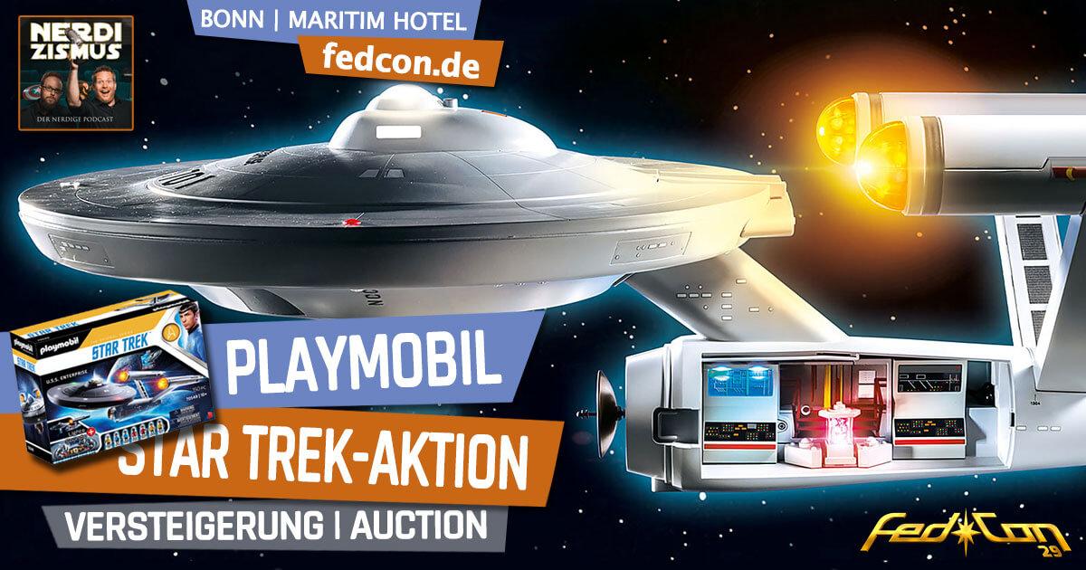 FedCon 29 | Specials | CastBlast @ FedCoFedCon 29 | Specials | Playmobil Star Trek-Aktionn 29 @ by Nerdizismus.de