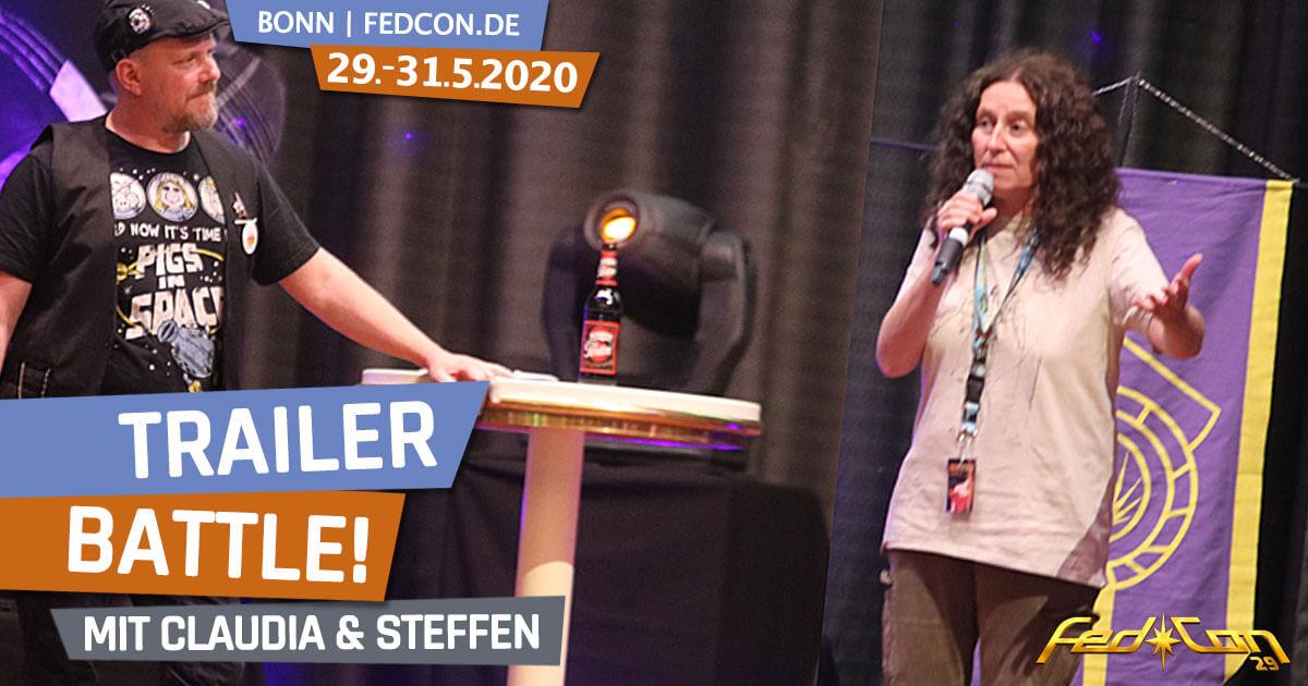 FedCon 29 | Specials | Trailer Battle | mit Claudia und Steffen