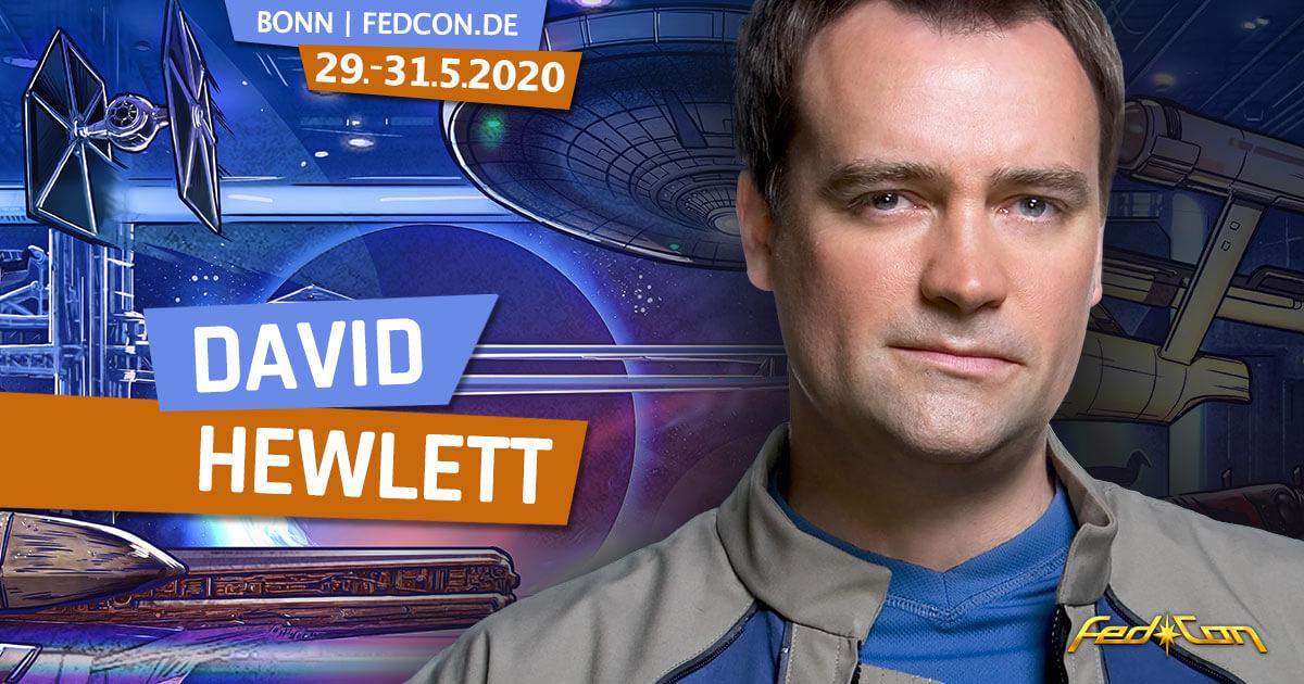 FedCon 29 | Stargast | David Hewlett