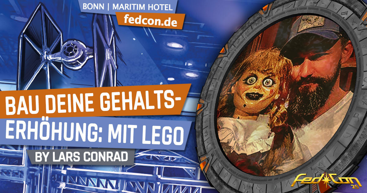 FedCon 29 | Vortrag | Bau deine Gehaltserhöhung: mit LEGO | by Lars Conrad