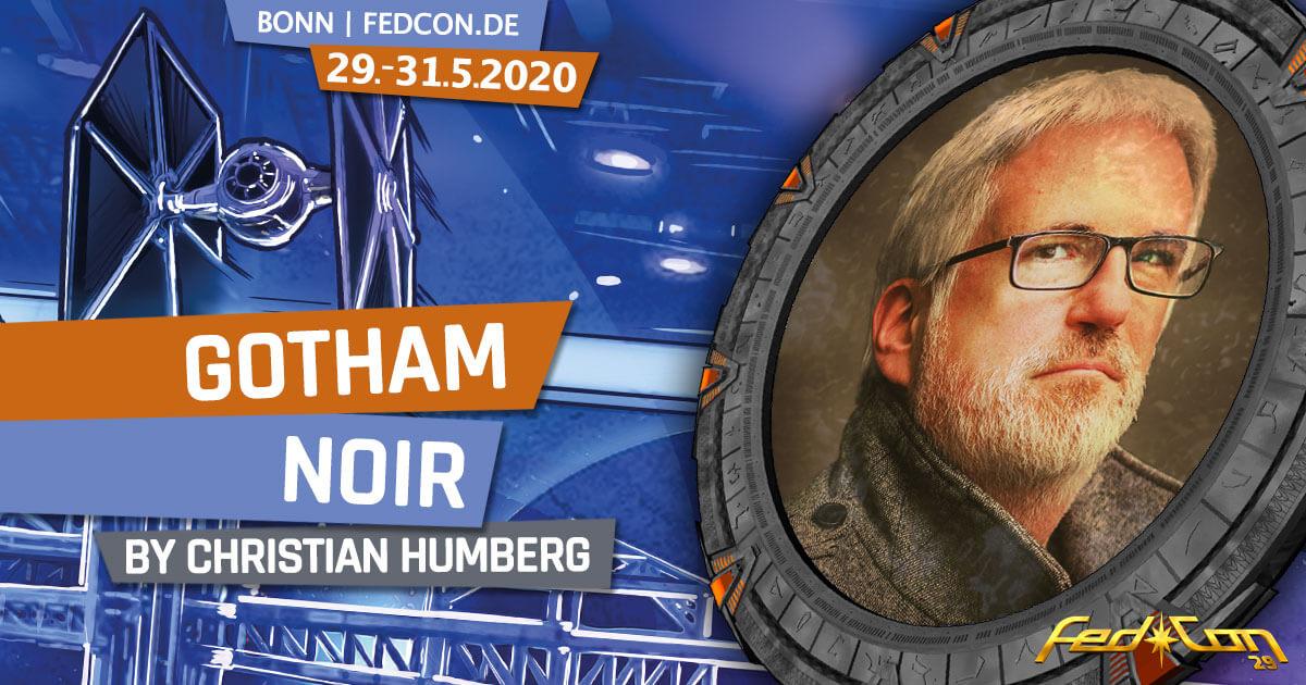 FedCon 29 | Vortrag | Gotham Noir | by Christian Humberg